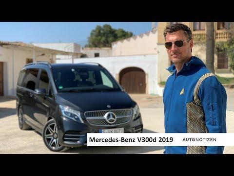 Mercedes V-Klasse V300d 2019 Facelift Review, Test, Fahrbericht