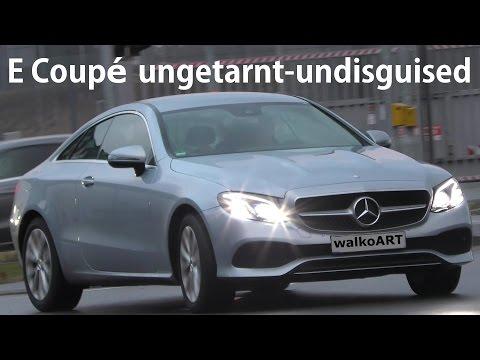 Mercedes Erlkönig E-Klasse Coupé BR238 ungetarnt E-Class coupe undisguised 4K-SPY VIDEO