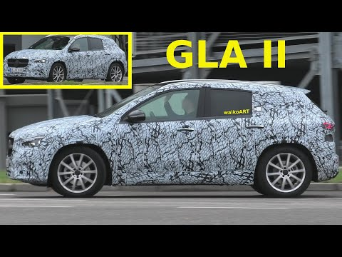 Mercedes Erlkönig GLA II (H247) prototype 2020 - 4K SPY VIDEO