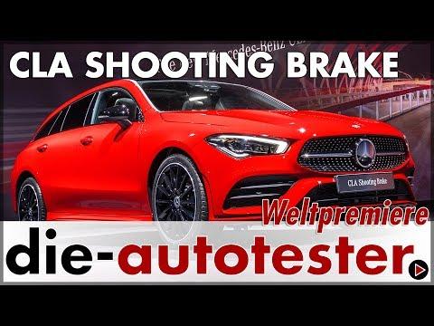 Genf 2019: Mercedes CLA Shooting Brake und weitere Weltpremieren | 2019 | Sitzprobe | Deutsch