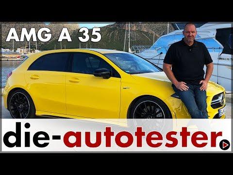 Mercedes-AMG A 35 4Matic - Probefahrt Preis Ausstattung Verbrauch | Test | Review | Deutsch