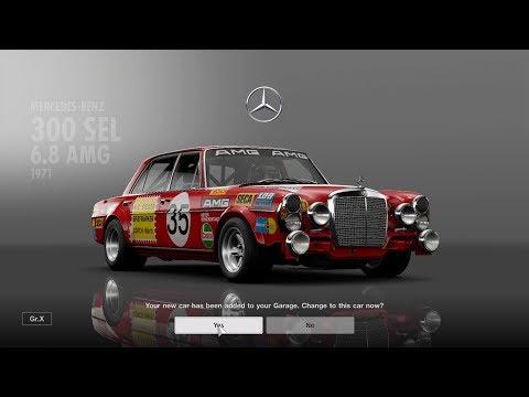Gran Turismo™SPORT Mercedes-Benz 300 SEL 6.8 AMG Test Race