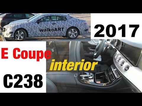Mercedes Erlkönig E-Klasse Coupé INNENRAUM komplett E-Class Coupe INTERIOR complete C238 2017