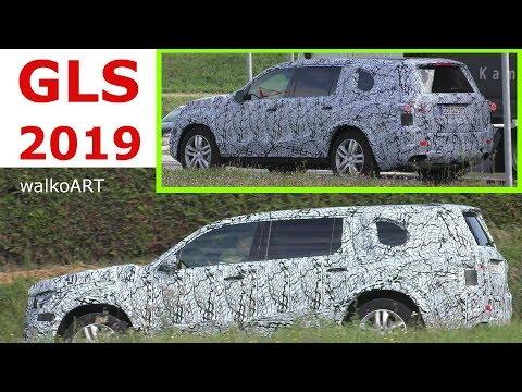 Mercedes Erlkönig GLS 2018/2019 X167 prototype - der neue SUV auf der Straße 4K SPY VIDEO