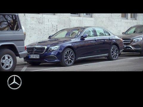 Mercedes-Benz E-Class 2016: Remote Parking Pilot & Parking Pilot