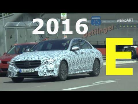 "Erlkönig Mercedes E-Klasse 2016 ""entkleidet"" sich weiter ! New E-Class ""stripped"" more & more W213"
