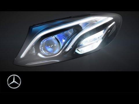MULTIBEAM LED Scheinwerfer in der neuen E-Klasse
