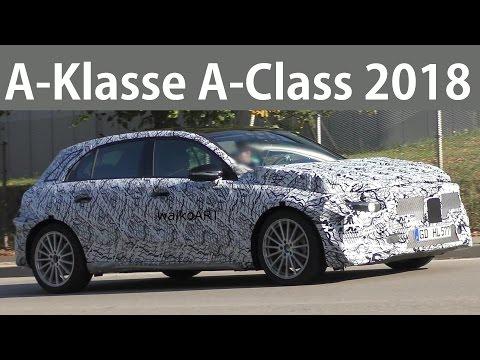 Mercedes Erlkönig A-Klasse 2018 A-Class W177 on the road - 4K SPY Video
