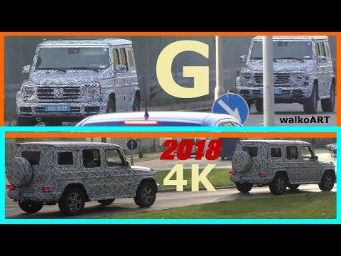 Mercedes Erlkönig 2x G-Klasse 2018 aus Österreich - 2x G-Class 2018 W464 from Austria 4K-SPY VIDEO