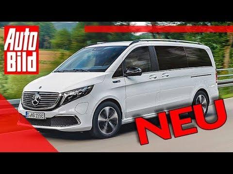 Mercedes EQV (2019): Neuvorstellung - Elektro - Van - Infos