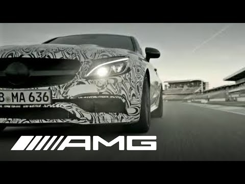 Mercedes-AMG: The C-Class Coupé is coming closer and closer.