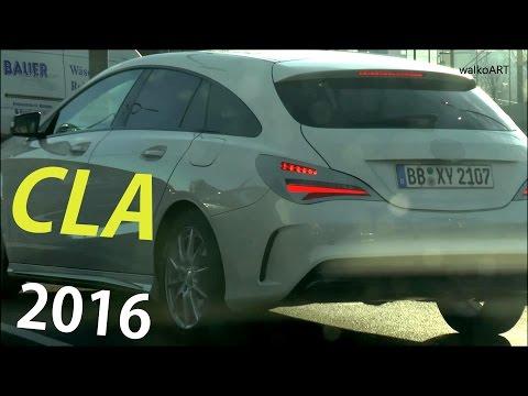 Mercedes Erlkönig X117 CLA Shooting Brake modifiziertes Heck - modified rear prototype SPY VIDEO