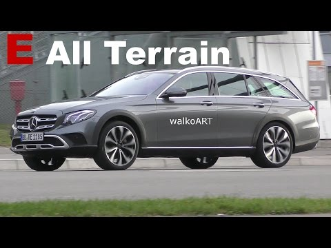 (Erlkönig) Mercedes-Benz E-Klasse E-Class All Terrain 2017 - X213 auf der Straße - on the road