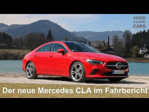 2019 Mercedes-Benz CLA 250 4MATIC Fahrbericht Test Review Sitzprobe Kritik Deutsch Voice over Cars
