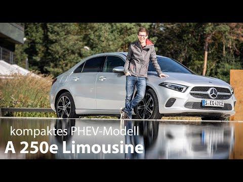 2019 Mercedes-Benz A 250e Limousine Fahrbericht / der kompakte Plug-in Hybrid im Test - Autophorie