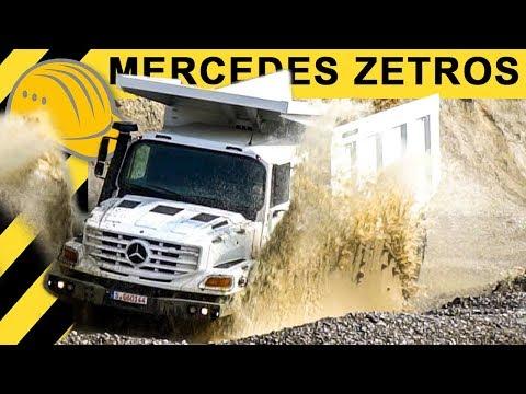 Auf der Straße VERBOTEN! OFFROAD im MERCEDES ZETROS 6x6 & AROCS | bauma