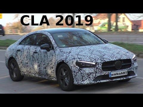 Mercedes Erlkönig - CLA II 2019 C118 - SPY VIDEO - Generation 2 Mercedes-Benz CLA