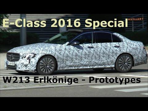 SPECIAL Mercedes Benz E-Class / E-Klasse 2016 Special - W213 Erlkönige-Prototypes on the road