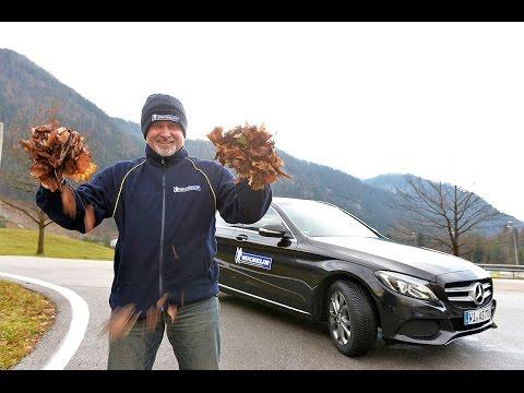 Sicher durch den Winter – mit Armin Schwarz und Michelin: Nasses Laub
