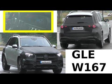 Mercedes Erlkönig - GLE 2018 fast ungetarnt W167 MBUX - prototype almost undisguised 4K SPY VIDEO