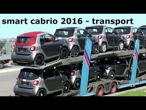 HOT! Ungetarnte ERLKÖNIGE Smart Cabrio 2016 A 453 ! PROTOTYPES smart fortwo cabrio 2016 transport