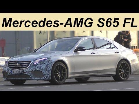 Mercedes Erlkönig Mercedes-AMG S65 Facelift S-Class Modellpflege S-Klasse W222 - 4K SPY VIDEO