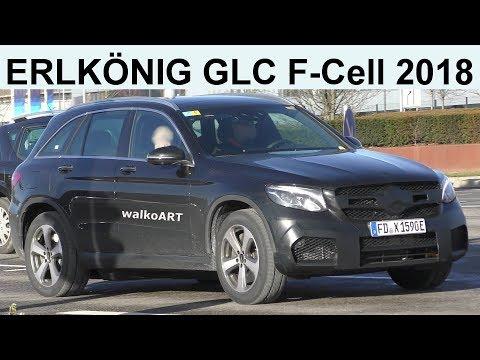 Mercedes Erlkönig EQ POWER GLC F-Cell 2018 prototype on the road 4K SPY VIDEO