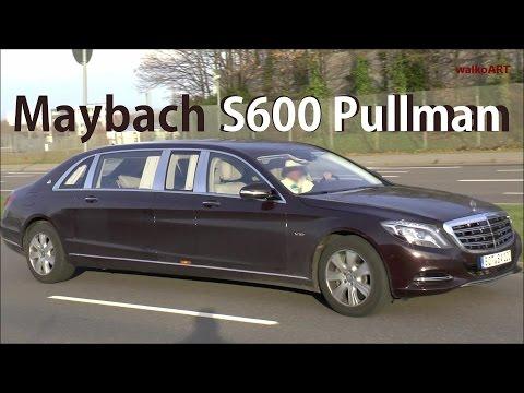 Mercedes Erlkönig HAMMER ! Mercedes-Maybach S600 Pullman 2016 (Brabus) auf der Straße / on the road