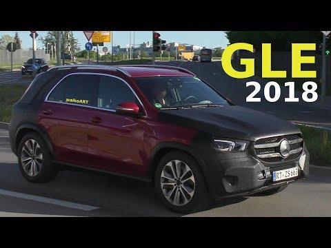 Mercedes Erlkönig GLE 2018 W167 wenig getarnt - NEW GLE prototype less camouflaged 4K SPY VIDEO