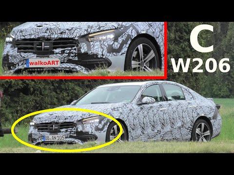 Mercedes Erlkönig C-Klasse W206 zeigt mehr * C-Class 2021 prototype shows more * 4K SPY VIDEO