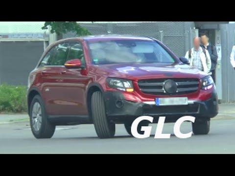 Mercedes GLC kurz vor der Weltpremiere - The new GLC shortly before the world premiere 2015 (X253)