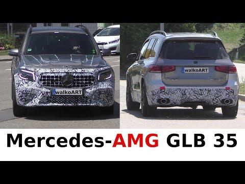 Mercedes Erlkönig AMG GLB 35 (X247) prototype - 4K SPY VIDEO
