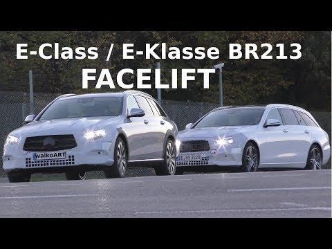 Mercedes Erlkönig E-Class E-Klasse FACELIFT 2020 First Time S 213 All Terrain MoPf - 4K SPY VIDEO