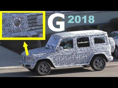 Mercedes Erlkönig G-Klasse 2018 Scheinwerfer + Rücklichter neu W464 prototype G 2018 new headlights