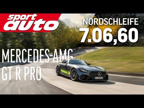 Mercedes-AMG GT R Pro | Hot Lap | Nordschleife | sport auto | Supertest
