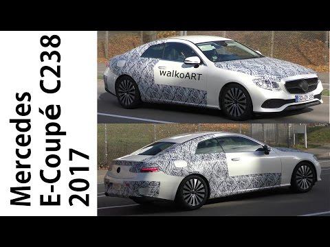 Mercedes Erlkönig E-Klasse Coupé C238 prototype E-Class Coupe 2017 4K-SPY VIDEO
