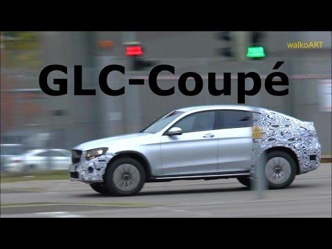 Mercedes Erlkönig GLC Coupé C253 2016 Mercedes Prototype spotted SPY VIDEO