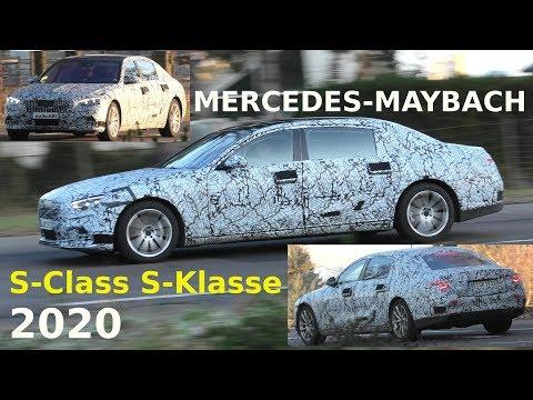 Mercedes Erlkönig Maybach S-Klasse S-Class 2020 X223 prototype on the road 4K SPY VIDEO