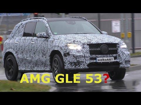 Mercedes Erlkönig - Mercedes-AMG GLE 53? - W167 AMG Version GLE 2018 - 4K SPY VIDEO