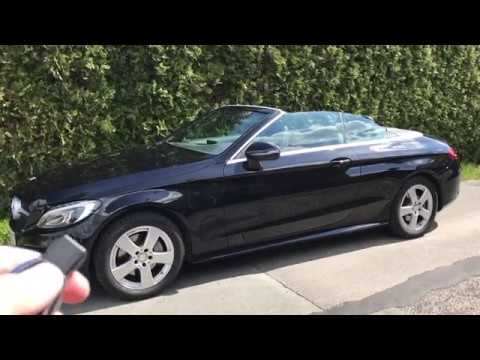 mods4cars SmartTOP for Mercedes-Benz C-Class Cabriolet - One-Touch open / close / Remote Top