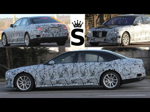 Mercedes Erlkönig S-Klasse S-Class * prototype Black Crown #W223 * Black Beauty 2020 * 4K SPY VIDEO