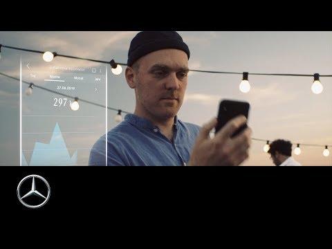 Architekt Paul Schägner und die Mercedes me Adapter App