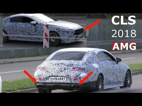 Mercedes Erlkönig Nachfolger successor CLS 2018 AMG prototype PREMIERE CLS 53 CLS 63 ? 4K SPY VIDEO