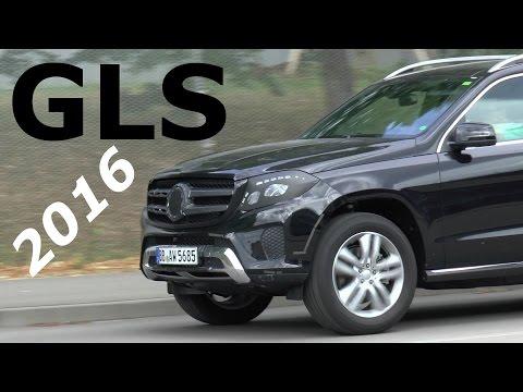 Mercedes GLS - Erlkönig fast ungetarnt 2016 GLS (former GL) prototype almost undisguised SPY VIDEO