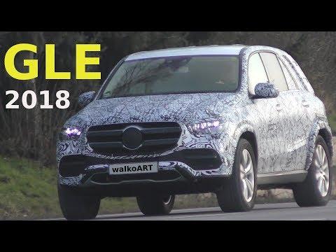 Mercedes Erlkönig GLE W167 2018 weniger getarnt - less camouflaged 4K SPY VIDEO