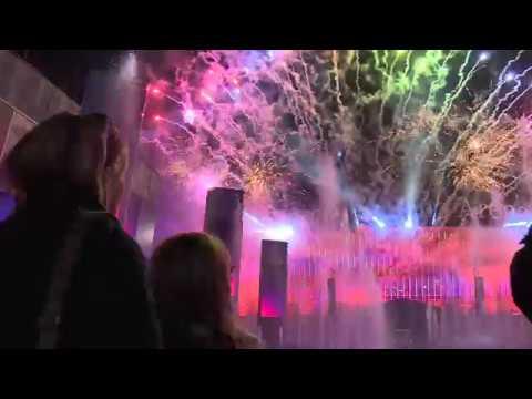 Mercedes Platz - Opening Ceremony - Feuerwerk - 13.10.2018