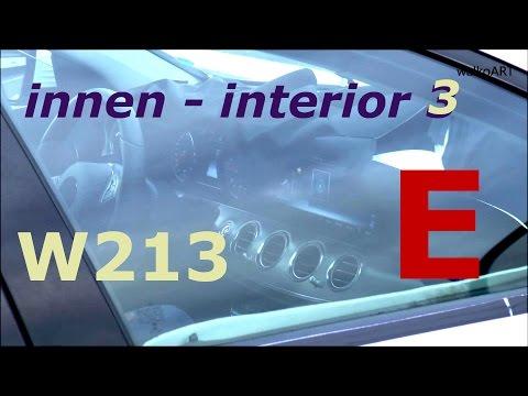 Mercedes Erlkönig E-Klasse 2016 Innen TEIL 3 Cockpit - Interior W213 Prototype E-Class 2017 PART 3