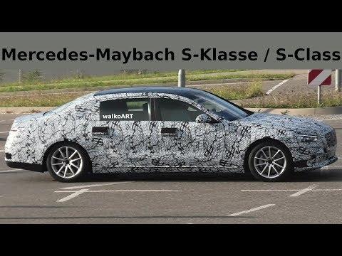 Mercedes Erlkönig Maybach S-Klasse S-Class X223 (2020) - 4K SPY VIDEO