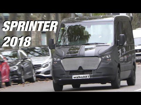 Mercedes Erlkönig - Sprinter 2018 auf der Straße - 2018 Sprinter VS30 on the road 4K-SPY VIDEO