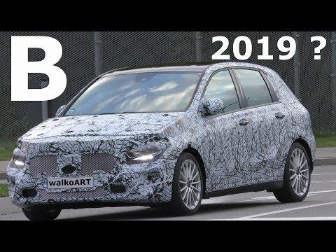 Mercedes Erlkönig Weltpremiere B-Klasse B-Class 2019 generation 3 Prototype FIRST TIME SPY VIDEO